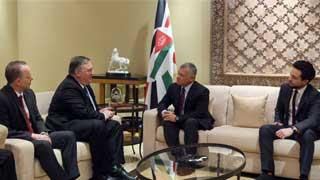 Secretary Pompeo meets King Abdullah II of Jordan
