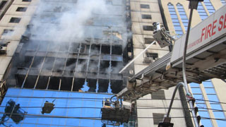 Another Banani fire victim dies; death toll now 26