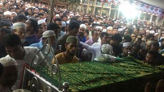 Tearful adieu to madrasa girl Nusrat