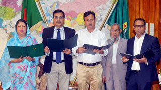 Four more BNP MP-elects take oath