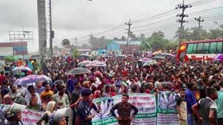Fishermen block Dhaka-Chattogram Highway