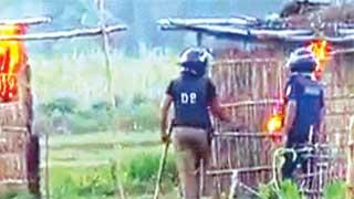 সাঁওতালপল্লীতে হামলা: ইউপি চেয়ারম্যানসহ ৯০ জনের বিরুদ্ধে চার্জশিট