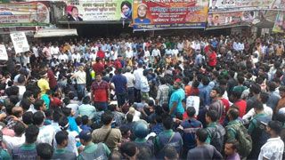 BNP holds rally among chase, counter-chase with police