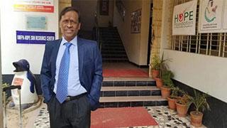 Bijon Sil leaves Bangladesh for Singapore