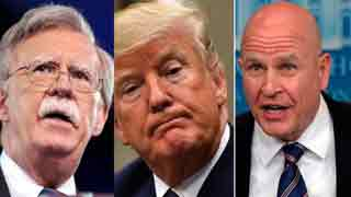 Trump picks Bolton to replace McMaster as national security adviser