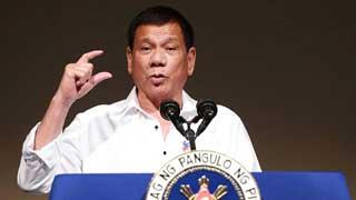 """Philippines' Duterte cites """"genocide"""" in Myanmar"""