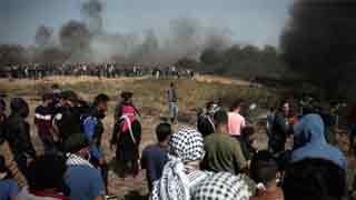 Israeli fire kills 9 Palestinians in Gaza protest