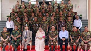 Army to be with people in running country, hopes Hasina