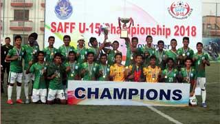 Bangladesh win SAFF U-15 title