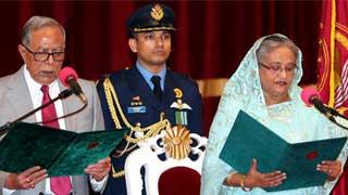 Sheikh Hasina sworn in as PM