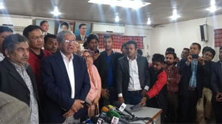 We reject the government: BNP