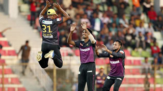 Rajshahi secure 3rd win, first defeat for Dhaka