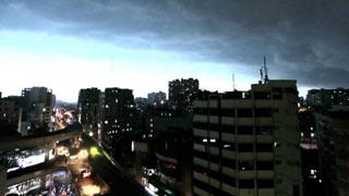Nor'wester hits Dhaka at 85kph speed