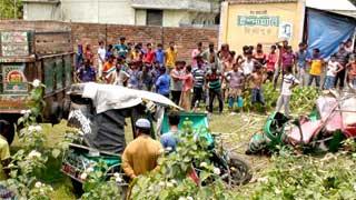4 killed in Mymensingh road crash