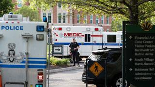 Gunman kills 2, injures 4 at University of North Carolina