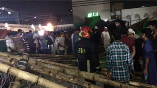Committee formed to probe Baitul Mukarram pandal collapse