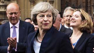 Theresa May quits as party leader