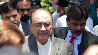 Pakistani ex-president Zardari arrested