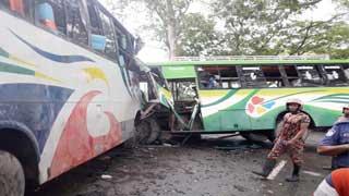 13 killed in Feni, Faridpur, Kishoreganj road accidents