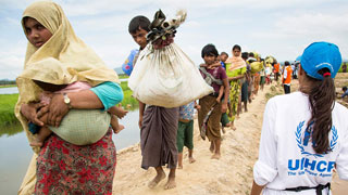 UN experts concerned by crackdown on Rohingya camps