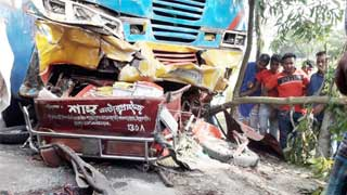 7 killed as bus hits easy-bike in Panchagarh
