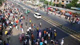 Transport strike over new law spreads across Bangladesh