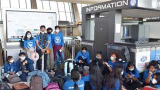 243 stranded Bangladeshis return from USA