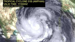 Signal 4 for maritime ports as Cyclone Amphan intensifies