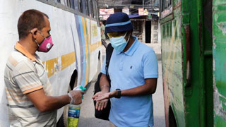 Bus services resume after more than 2 months