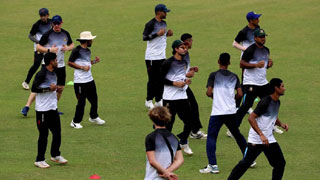 National team hits the field after long hiatus
