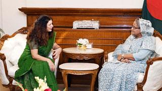 Hasina assures EU envoy of free, fair election