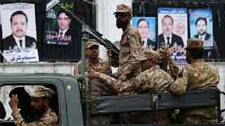 Blast kills 18 in Pakistan's Quetta on election day