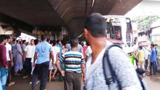 Commuters suffer in city as public buses go off streets