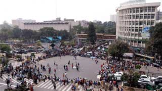 Shahbagh intersection blocked for second day