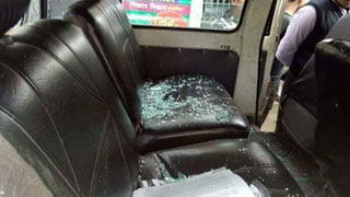 Chhatra League attack  on Moudud's rally, 5 hurt