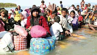 58 Malaysia-bound Rohingyas rescued from Bay