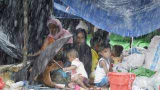 Inclement weather affects 22,000 Rohingyas in camps