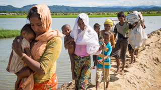 New EU funding helps WFP provide food assistance to Rohingyas