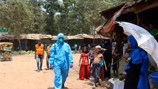 Coronavirus: First Rohingya man's death reported in Bangladesh camp