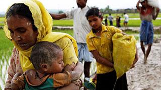 3 Nobel laureates visit Rohingya camps