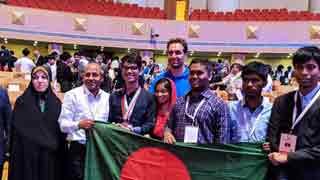 Bangladeshi student wins bronze in Int'l Biology Olympiad