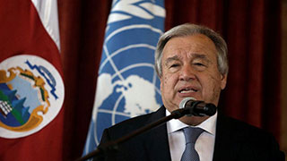 UN chief warns member states: We're running out of cash