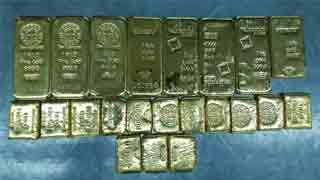 Indian citizen held with 12.3kg gold