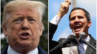 Trump welcomes Venezuelan interim President Guaido