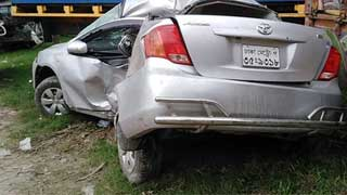 Bank official, driver killed in Sirajganj road crash