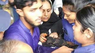 Nusrat's mother faints after testifying