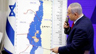 Israeli PM pledges to occupy Jordan Valley if re-elected