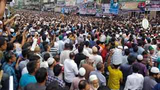 Khoka's 2nd janaza held at BNP office