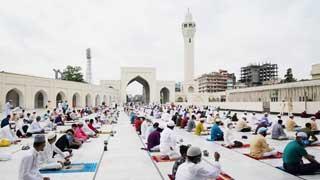 Muslims in Bangladesh celebrate Eid-ul-Fitr