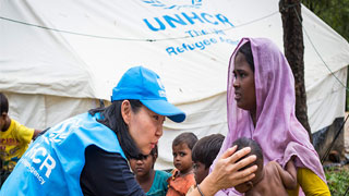 Quick and safe Rohingya repatriation good for all: India